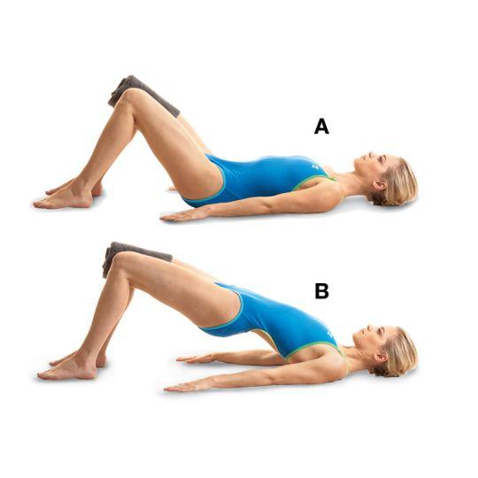 Bridge Exercise|桥式运动 - 核心肌群训练动作
